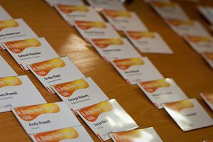badges from a Cetis event